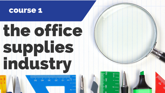 1. The Office Supplies Industry