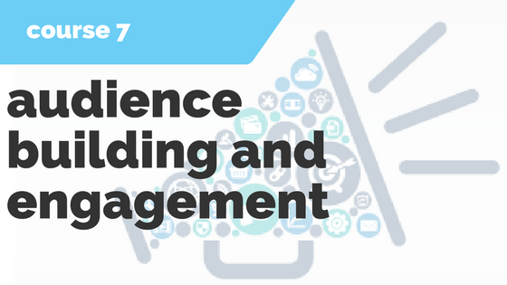 7. Audience Building & Engagement